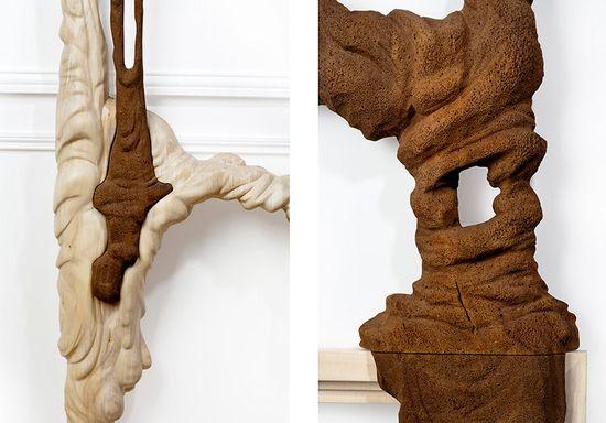 Bonsoir Paris's Duramen 'Heartwood' hand-carved wooden frames 8