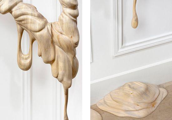 Bonsoir Paris's Duramen 'Heartwood' hand-carved wooden frames 9
