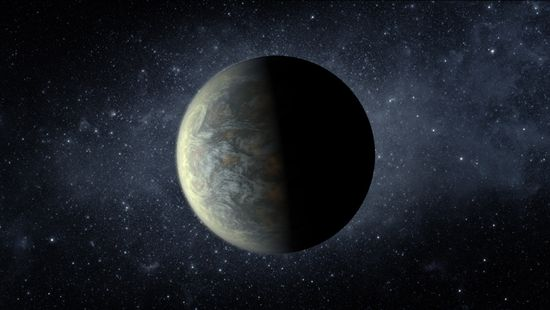 This illustration shows Kepler-20f, discovered by NASA's Kepler space telescope. It's 1.03 times the width of Earth