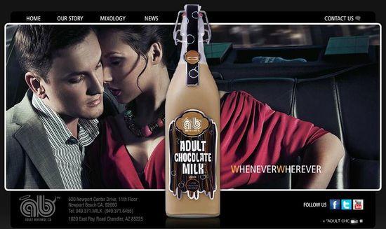 Adult Milk Chocolate homepage
