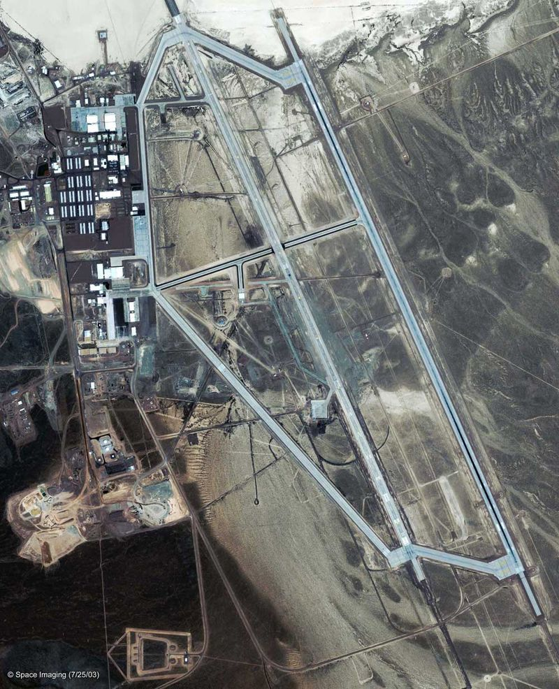 According to the U S  government, Area 51 does not exist  Google