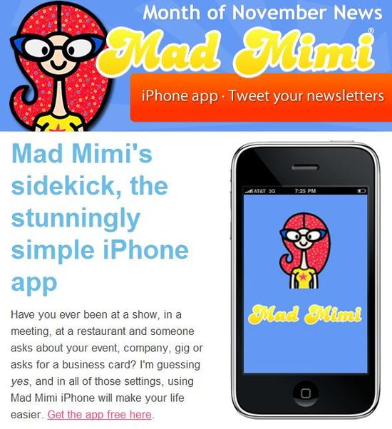 MadMimi Themes - Month of November News