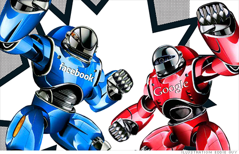 Facebook versus Google, The Battle for the Future of the Web