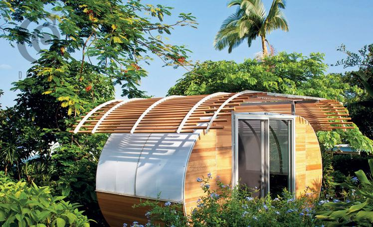 House Arc Joseph Bellomo Architects, Hawaii, 753 sq. ft.