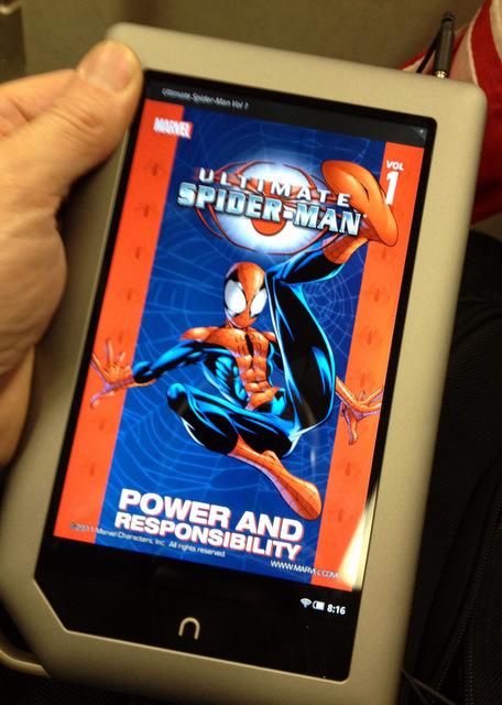 B&N Nook Tablet SpiderMan