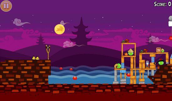 B&N Nook Tablet Angry Birds Seasons
