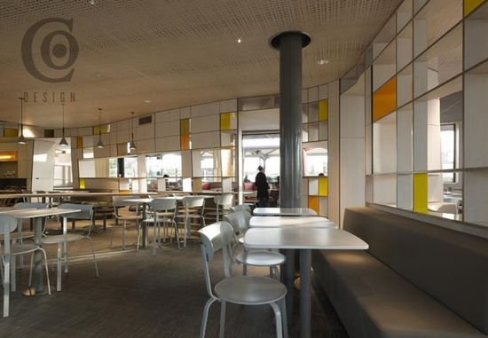 McDonalds store design concept in France by Patrick Norguet 4