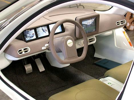 Aptera electric car interior