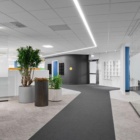 ATG IT interior, designed by Note Design Studio 7