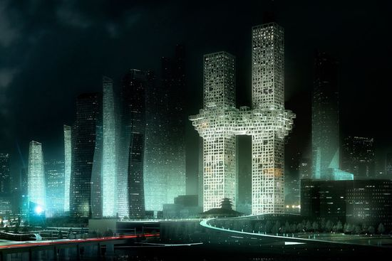 MVRDV '911' luxury residential towers 4