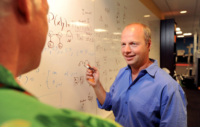 Sebastian Thrun, one of the world's top robotics and artificial intelligence experts, is a leader at Google X
