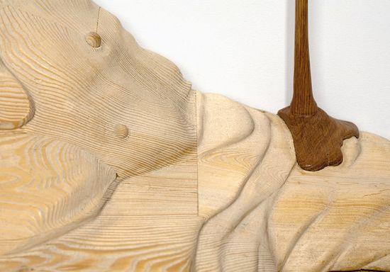 Bonsoir Paris's Duramen 'Heartwood' hand-carved wooden frames 3