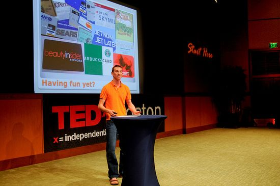 Seth Priebatsch,Pinceton dropout and founder of SCVNGR speaks at TED-X about game dynamics.