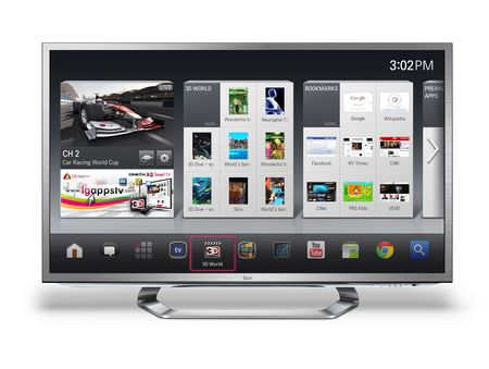 LG's Smart TV Platform incorporates Android for Google TV