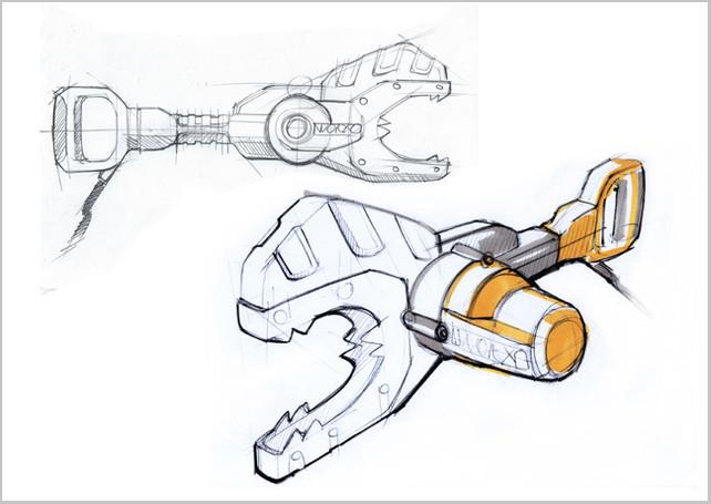 Worx JawSaw design concept