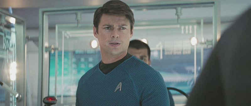 Actor Karl Urban played the part of a young Dr. Bones McCoy in the movie 'Star Trek 9'