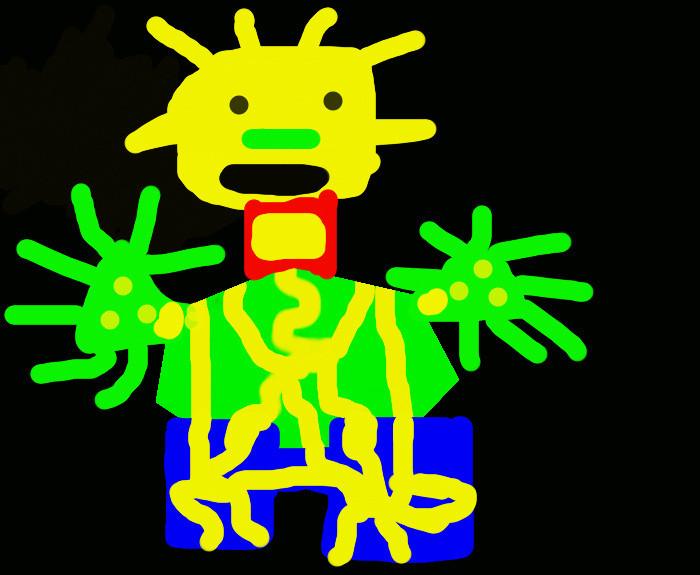 Kids robot drawing 5