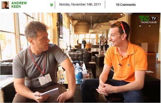 Andrew Keen interviews SCVNGR founder Seth Priebatsch about LevelUp