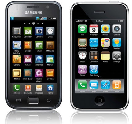 Apple overtakes Samsung in the Smartphone Wars