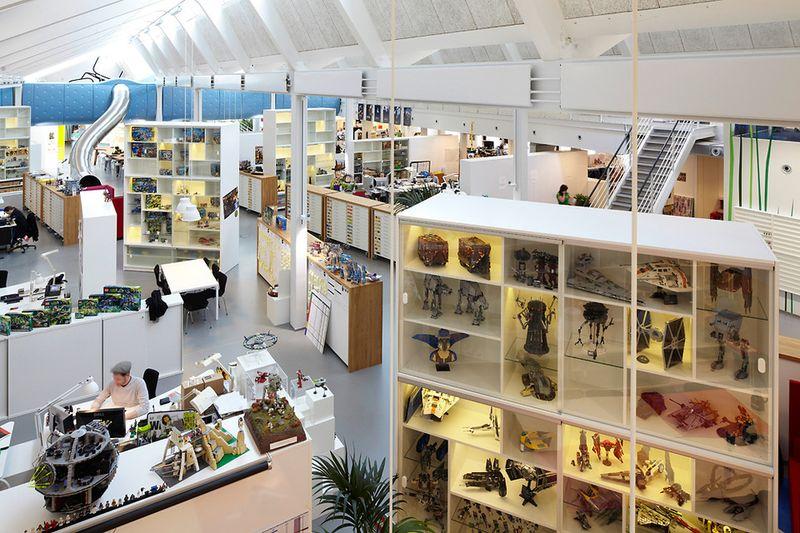 Lego PMD fantasy playroom office interior 2