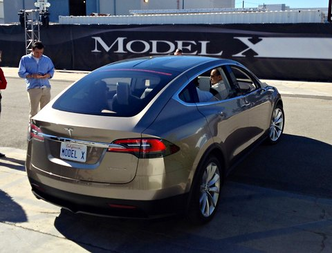 The Model X evokes other premium crossovers, particularly the Acura ZDX and BMW 5 Series Gran Turismo