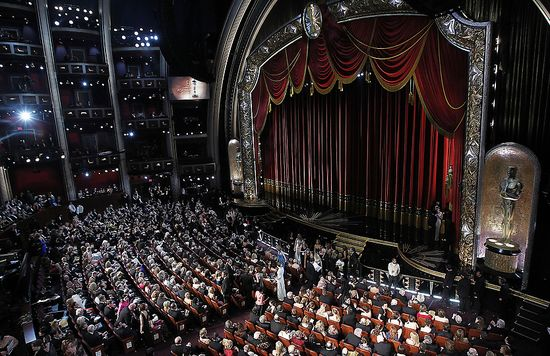 The Kodak Theater, the site of the 84th Academy Awards