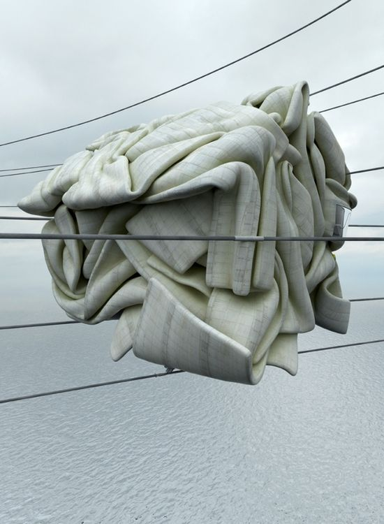 Concrete Misplots - Marginal architectures of the future by German designer Zeitguised - 4