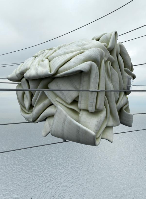 Concrete Misplots - Marginal architectures of the future by German designer Zeitguised - 4