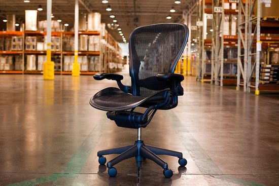 Completed Aeron Chair