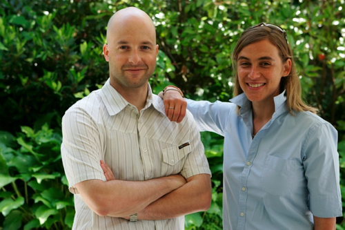 Wildfire co-founders Alain Chuard and Victoria Ransom