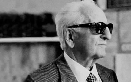Enzo Anselmo Ferrari (1898 – 1988), race car driver and founder of Ferrari Motors