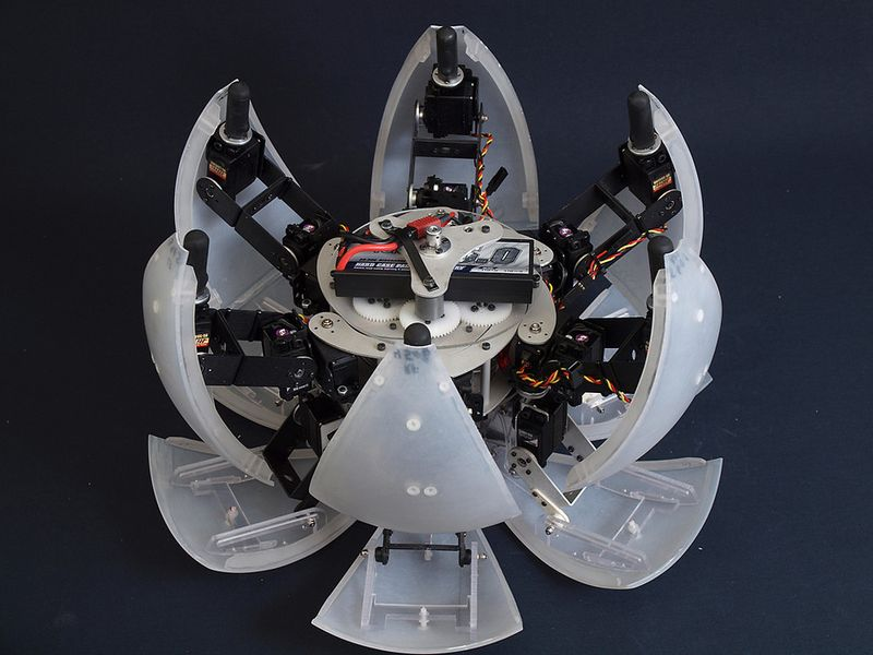 MorpHex, the robot that rolls 06