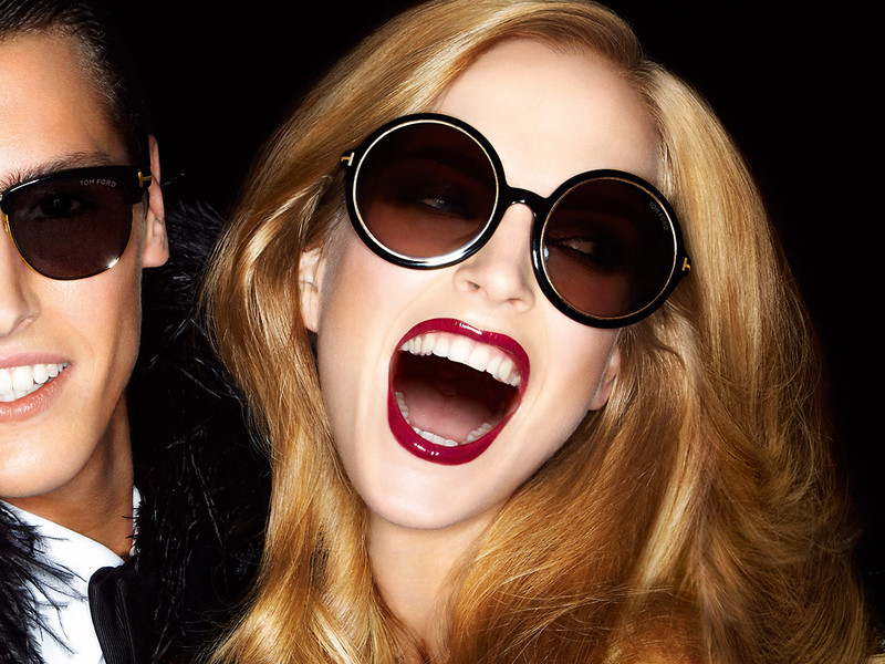Ultra couture fashion designer Tom Ford's line of men and women's eyewear for 2012