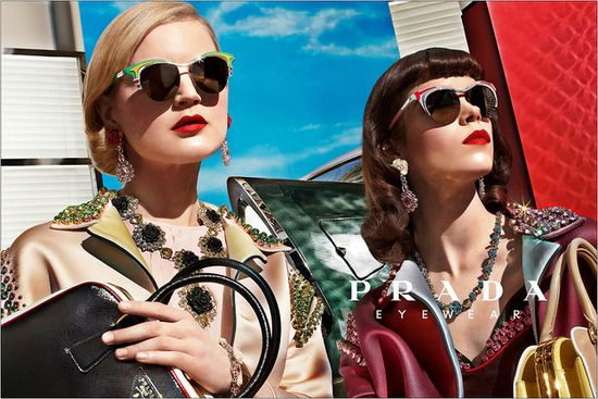 Prada's Spring 2012 Campaign eyewear