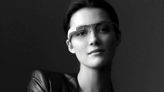 Google's augmented reality headsup display (HUD) glasses
