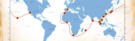 Unreasonable at Sea - Ports of call during 2013 tour includes visits to14 countries. Includes 20 mentors and 10 different ventures