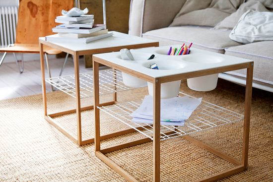 IKEA PS Collection for 2012 - Bamboo frame side tables by Henrik Preutz - $29-$49