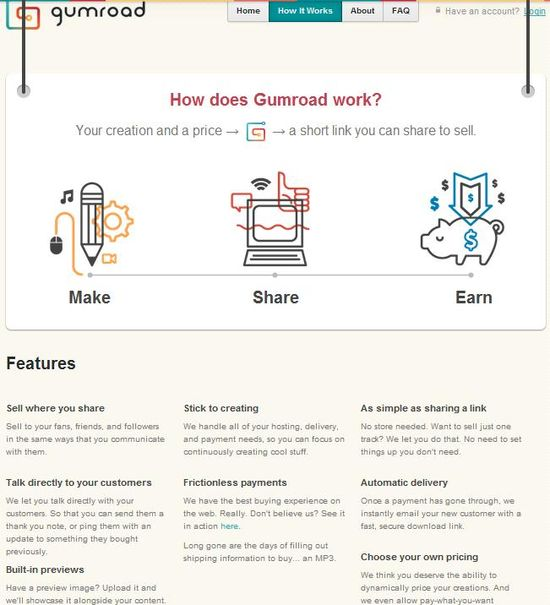 Gumroad - How It Works