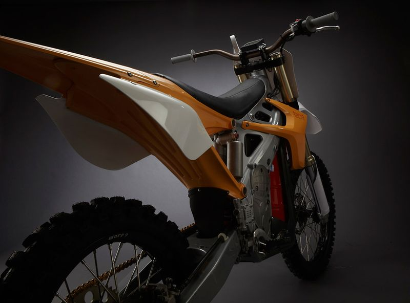 BRD's RedShift is equipped with offroad MX Tires