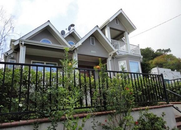 Mark Zuckerberg's home in Palo Alto, California