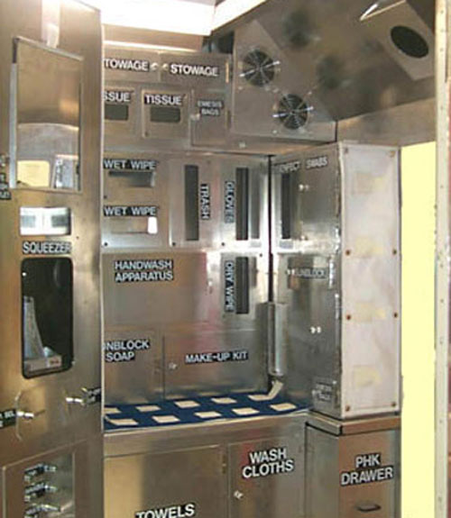 Space Bathroom, International Space Station