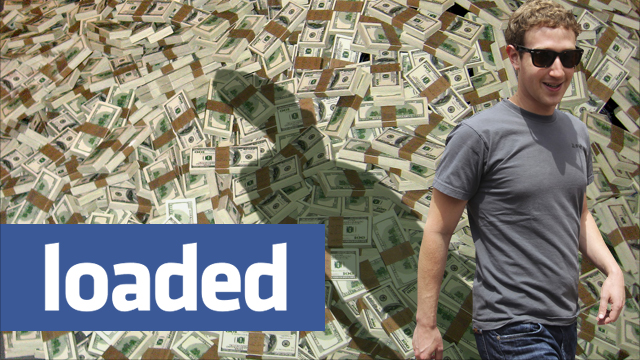 Facebook Loaded With Cash