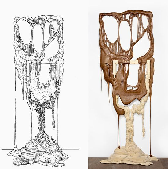 Bonsoir Paris's Duramen 'Heartwood' hand-carved wooden frames 4