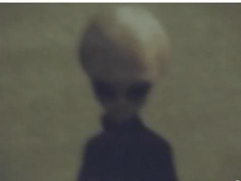Image of a Grey extra-terrestrial in1955