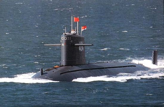 China's Type-091 Nuclear Attack Submarine (SSN)