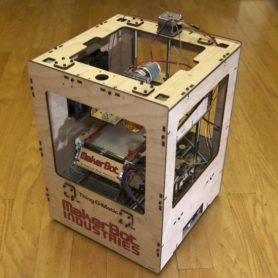 MakerBot Thing-O-Matic 3D printer, fully assembled