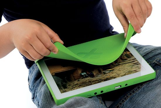 Fuse Project One Laptop Per Child XO-3 laptop 4