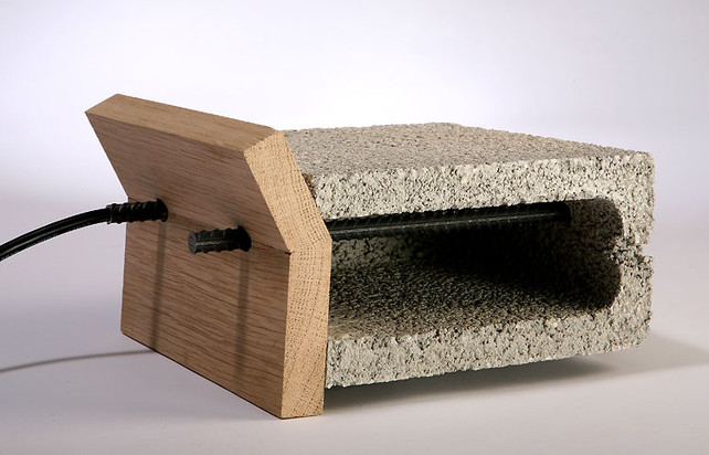 Adi Zaffran's cinder block and rebar toaster 2