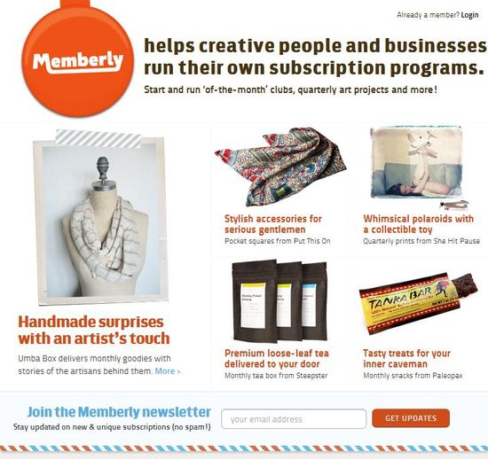 Memberly helps creative people and businesses run their own subscription programs