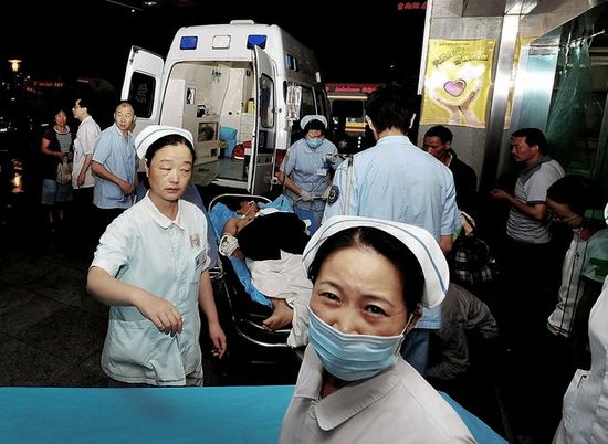 An explosion last May at a Foxconn factory in Chengdu, China, killed four people and injured 18. It built iPads.